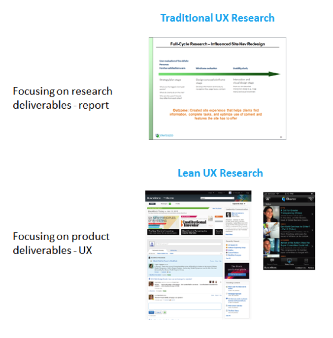 Lean UX research quality